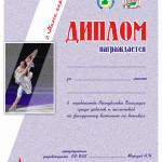 диплом а4 фигурное катание