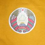 Нанесение логотипа на майку термотрансферной пленкой с печатью