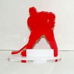 """Приз акриловый  (статуэтка) """"Хоккей""""."""